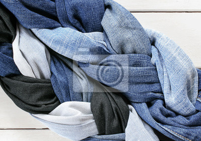 modne ramki dwóch stylowe warkocze i plaits's laced niebieski genoway tkaniny na białym tle drewniane