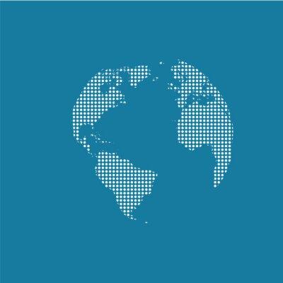 Plakat monde, Planisphère