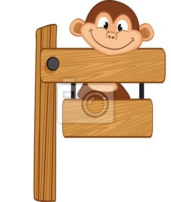 Monkey stylizowane trójkąta wielobocznego modelu