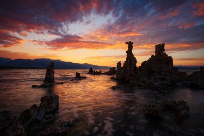 Plakat Mono Lake, Californie, États-Unis