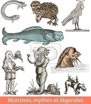 Monstres, mythes et Legendes