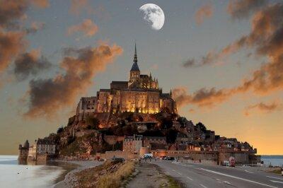 Plakat Mont Saint-Michel