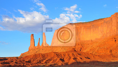 Monument Valley Trzy siostry