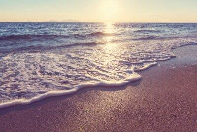 Plakat Morze słońca