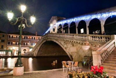 Plakat Most Rialto - Wenecja