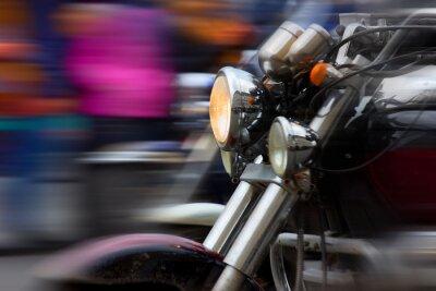Plakat Motocykl