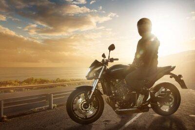 Plakat Motocykl na Ocean Road