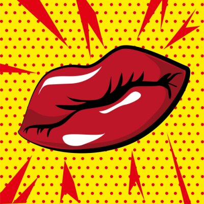 Plakat mouth design