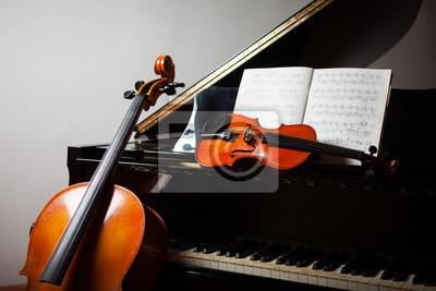 Plakat Muzyka klasyczna