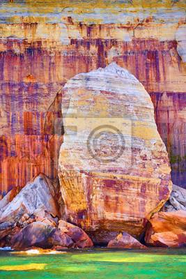 Plakat Na zdjęciu Rocks Rock Wall Paint Minerals