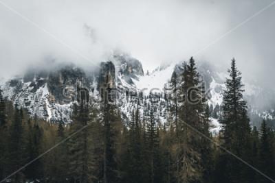 Plakat Natura w Dolomitach, Włochy