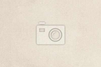 Plakat Natural linen material textile canvas texture background