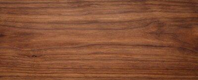 Plakat Natural oak texture with beautiful wooden grain, walnut wooden planks, Grunge wood wall.