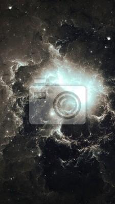 Plakat Nebula - Dwa