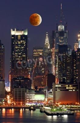 Plakat New York City skyline z Liberty State Park