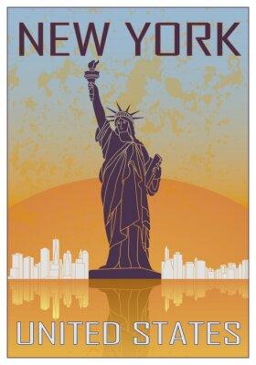 Plakat New York plakat rocznika