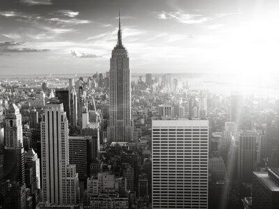 Plakat New York skyline