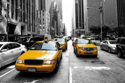 Plakat New York Taxi
