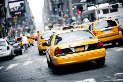 Plakat New York Taxi