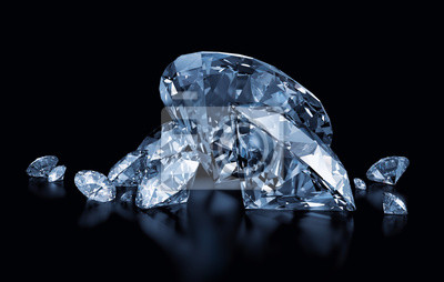 niebieskie diamenty