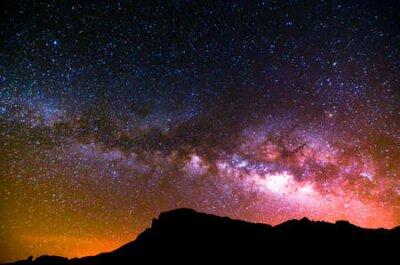 Plakat Night Sky