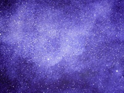 Plakat Night sky with stars as background. Watercolor