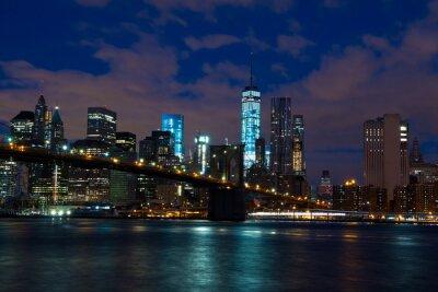 Plakat Noc na Manhattanie