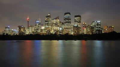 Plakat Noc w Sydney
