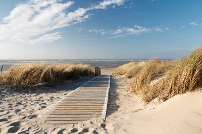 Plakat Nordsee Strand auf Langeoog
