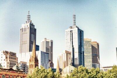 Plakat Nowoczesna architektura Melbourne, Australia