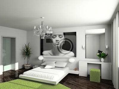 Plakat nowoczesne komfortowe wnętrze
