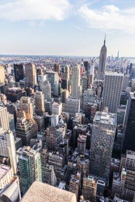 Plakat Nowy Jork dall'alto