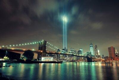 Plakat Nowy Jork nocy