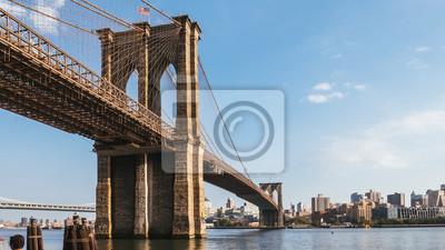 Plakat Nowy Jork, USA / Brooklyn Bridge at Dusk