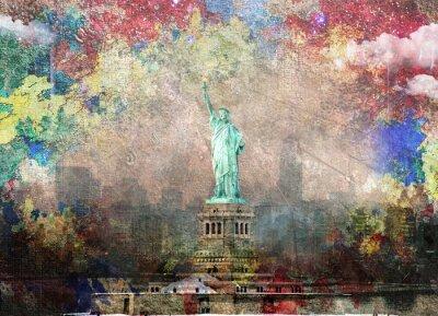Plakat NYC Krajobraz