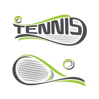 Plakat Obraz na temat tenisowy