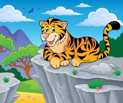 Plakat Obraz temat 2 Tiger