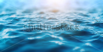 Plakat ocean water background