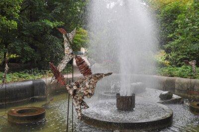 Plakat Ogród Botaniczny w Warszawie