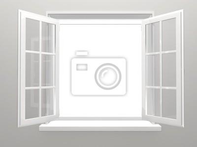 Plakat okno