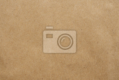 Plakat Old brown eco recycled kraft paper texture cardboard background