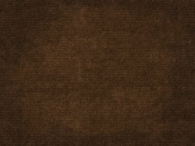 Plakat Old rough paper sheet. Dark brown paper texture background.