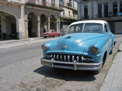 Plakat Oldtimer, Havanna, Kuba