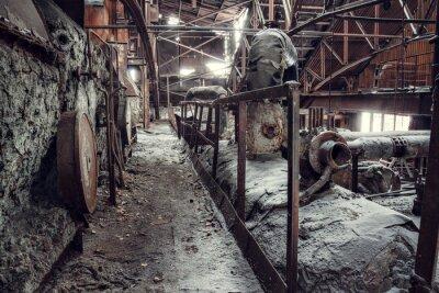 Plakat Opuszczona fabryka