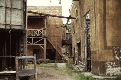 Plakat Opuszczone domy w starożytnym Rzymie