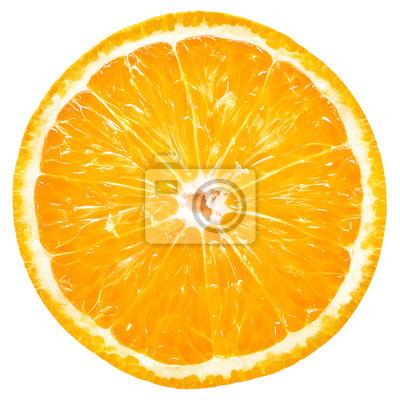 Plakat Orange slice isolated