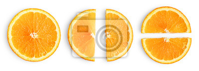 Plakat Orange slices isolated