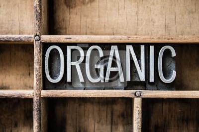Plakat Organicznych form typu w szufladzie