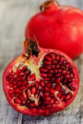 Plakat Owoce granatu