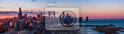 Plakat Panorama Chicago